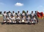 【結果】第12回青井旗選抜軟式野球大会が終了しました。
